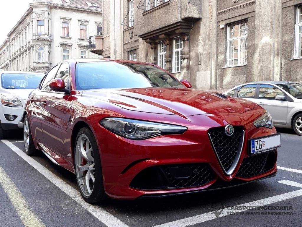 Alfa Romeo Giulia Quadrifoglio - CarSpottingCroatia