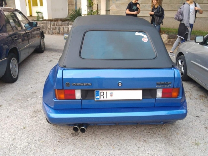 Golf Mk1 Cabrio Widebody