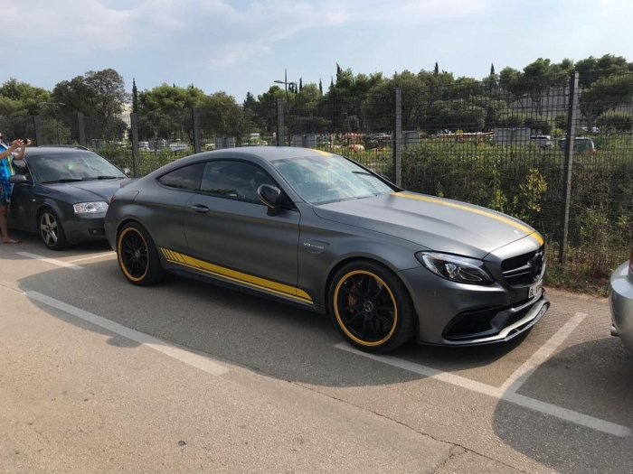 C63 S AMG Coupe Edition 1